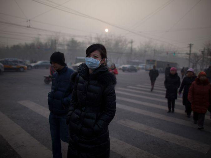 Poluicao na China 35