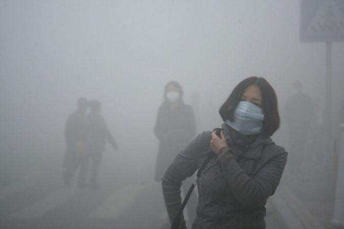 Poluicao na China