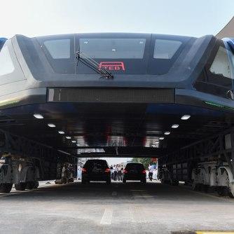 TEB Elevated Bus China#2