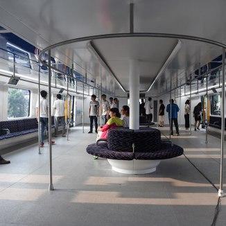 TEB Elevated Bus China#3