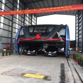 TEB Elevated Bus China#4