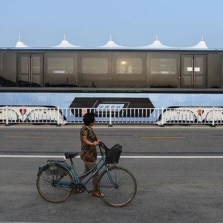 TEB Elevated Bus China#5