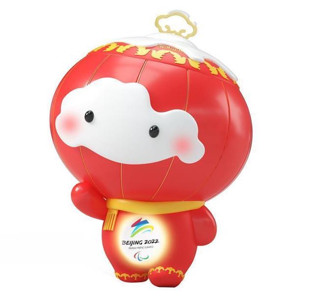 Mascote paraolimpico Pequim 2022