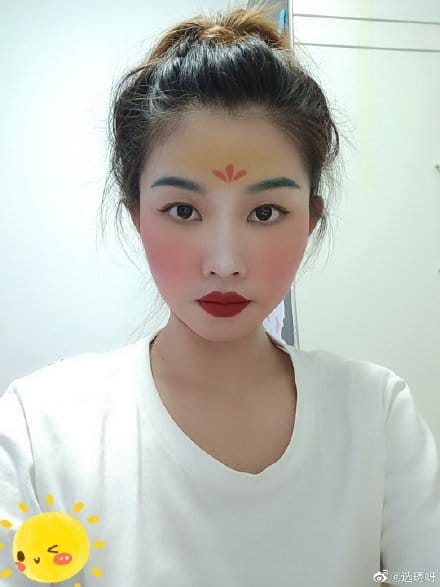 #mulan maquiagem 14