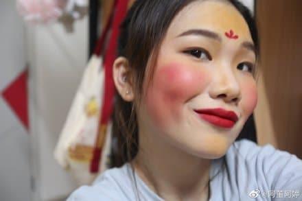 #mulan maquiagem 15