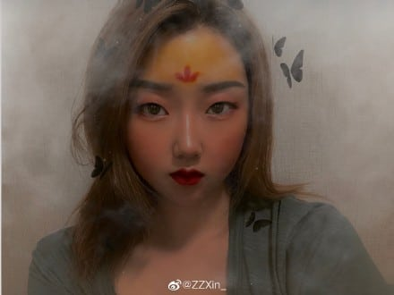 #mulan maquiagem 4
