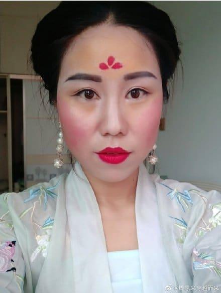 #mulan maquiagem 9
